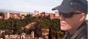 Zak Martin in Granada, Spain
